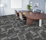 5050cm Pvc Backing Modular Carpet Tiles For Office